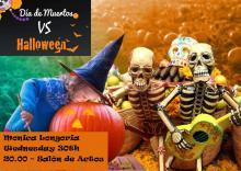 """""""Día de los Muertos vs. Halloween"""""""